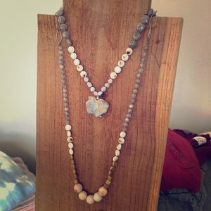 Double Strand Necklace! One of a kind! Pretty!